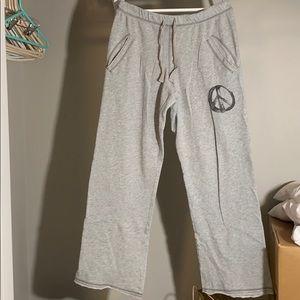 PINK V.S. Gray Peace Pants